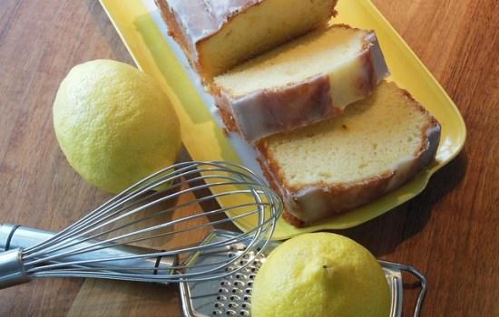 Yoghurtcake met citroen