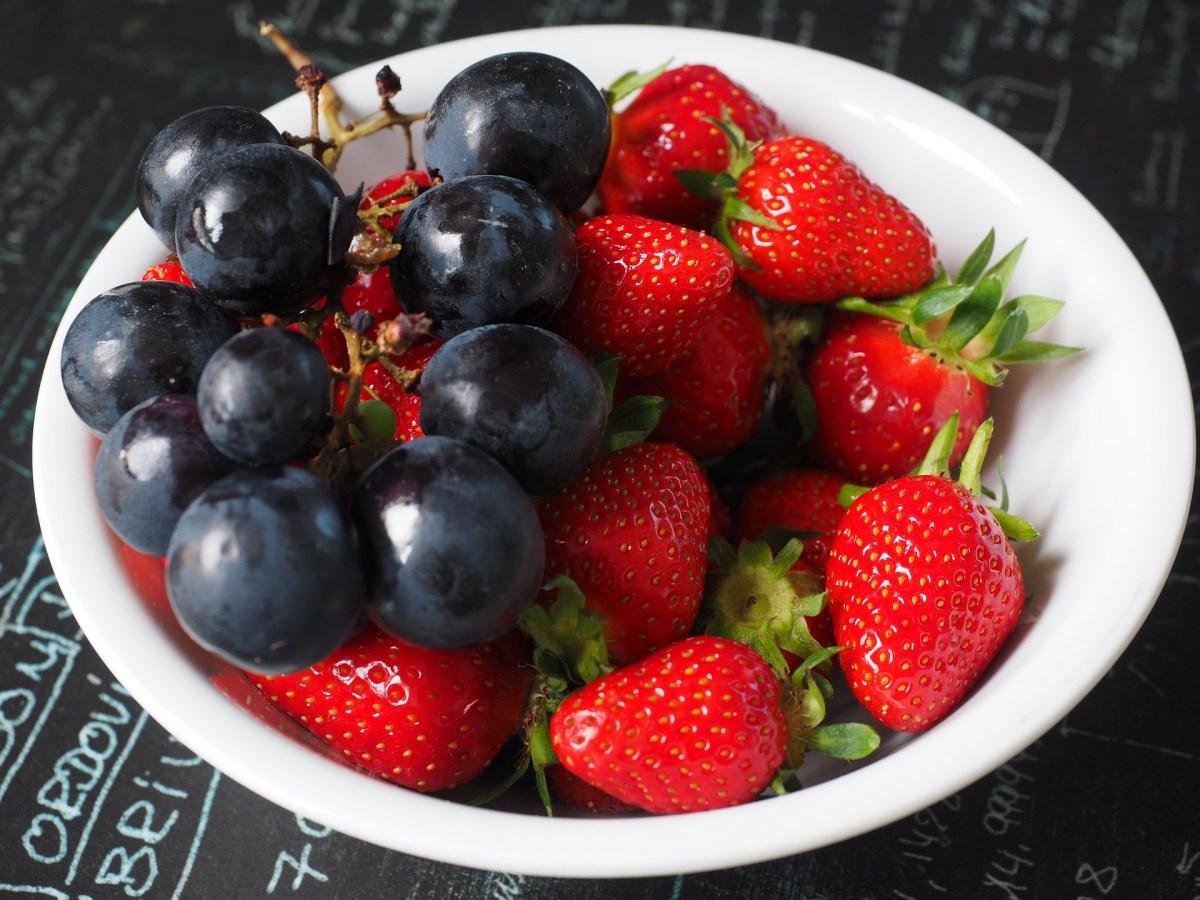 Fruittaartje van bladerdeeg (uit de Airfryer)