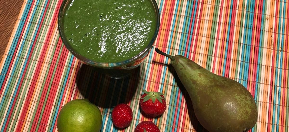 Spinazie-limoen smoothie: lekkere opkikker