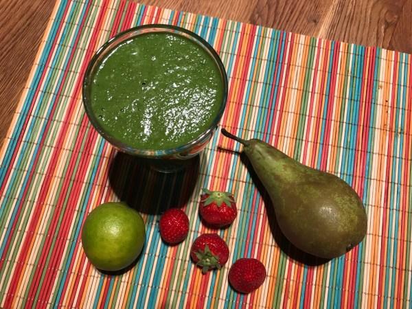 Spinazie-limoen smoothie