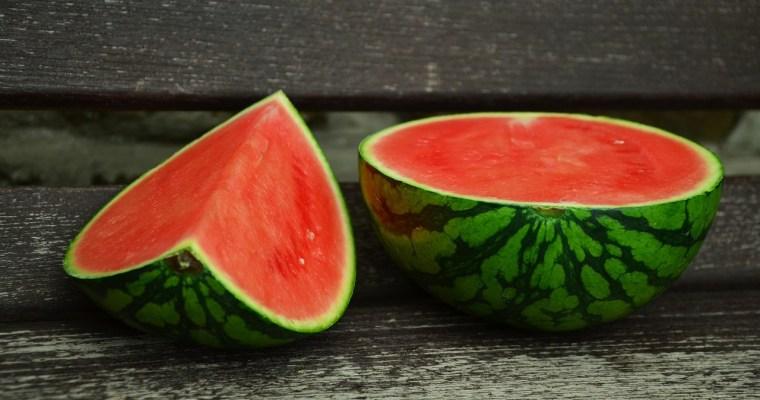 De lekkerste soep is deze watermeloensoep!