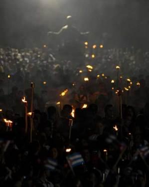 Miles de jóvenes cubanos participarán en la Marcha de las Antorchas, el 27 de enero de 2011, La Habana, Cuba. Foto: Calixto N. Llanes/Juventud Rebelde (CUBA)