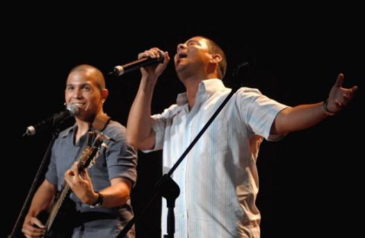 El dúo Buena Fe interpretó Playstation, el 12 de Agosto de 2011, La Habana, Cuba. Foto: Calixto N. Llanes/Juventud Rebelde (CUBA)