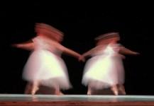 Las Sílfides, interpretada por bailarines del Ballet Nacional de Cuba durante el 20 Festival Internacional de Ballet de La Habana, el sábado 4 de Noviembre de 2006, La Habana. Foto: Calixto N. Llanes (CUBA)