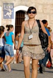 Pasarela en la cabaña, el 16 de Febrero de 2012, La Habana. FOTO: Calixto N. Llanes (CUBA)