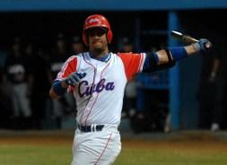 ¿Seguirá Yulieski Gourriel en los turnos de arriba de la alineación cubana? el sábado 7 de julio de 2012, La Habana. Foto: Calixto N. Llanes/Juventud Rebelde (CUBA)