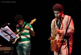 Contemporaneo Emsemble, en la clausura del 16 Concurso de Jóvenes Jazzistas JoJazz 2013 que tuvo lugar en el Teatro Mella, el domingo 17 de noviembre de 2013, La Habana. FOTO de Calixto N. Llanes (CUBA)