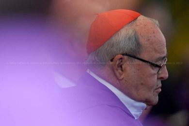 Cardenal Jaime Ortega Alamino, Arzobispo de La Habana, durante la Santa Misa que ofició el Papa Benedicto XVI en la Plaza de la Revolución José Martí el 28 de marzo de 2012, La Habana, Cuba. FOTO de Calixto N. Llanes/Juventud Rebelde (CUBA)