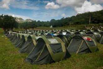 Campamento #3 de Viñales durante la Titán Tropic Cuba de ciclismo de montaña. FOTO: Calixto N. Llanes