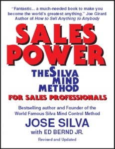 Sales Power the Silva Mind Method for Sales Professionals