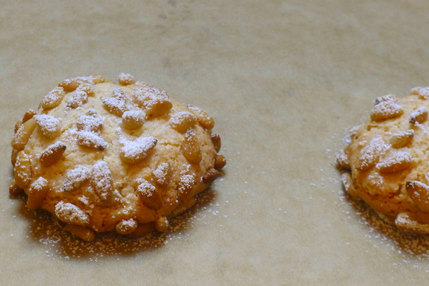 Gluten-Free Pine Nut Cookies with Homemade Almond Paste