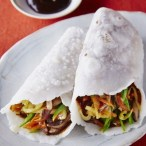 Gluten-Free Moo Shu Vegetable with Sesame Pancakes Beauty A131110 Silvana's Kitchen 2014