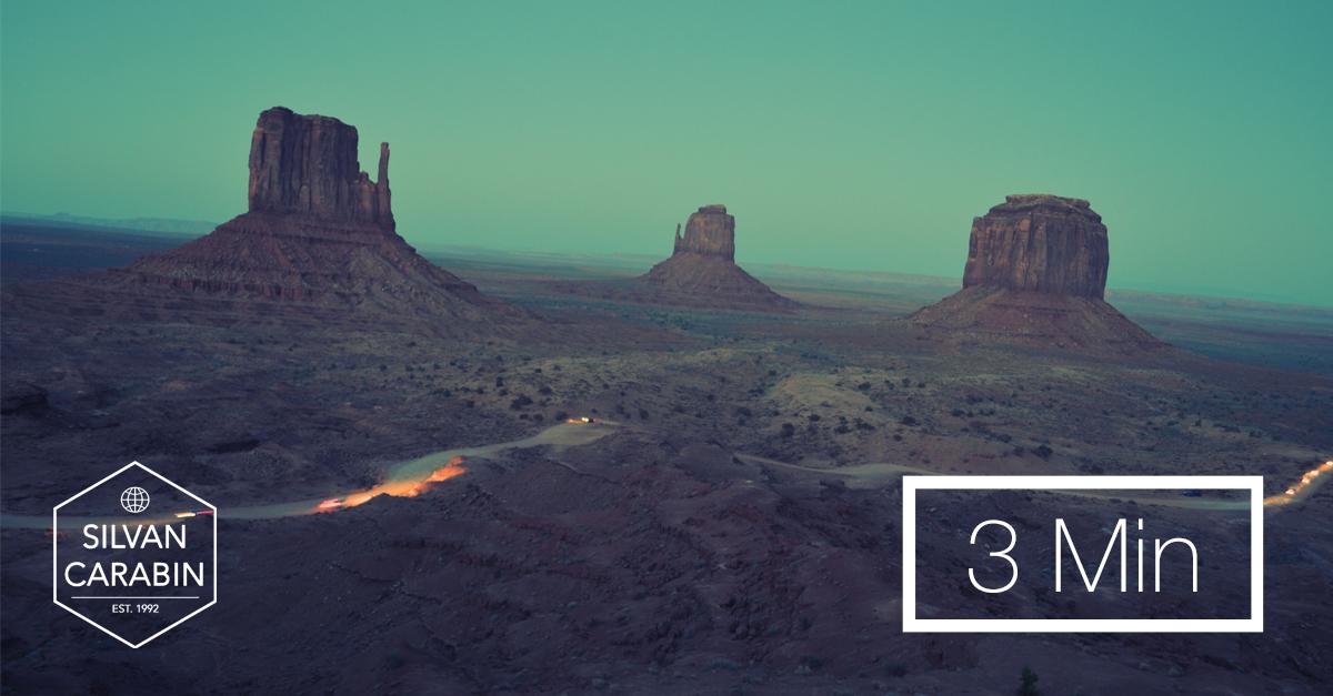 Siegreich durch Wüstenzeiten gehen.