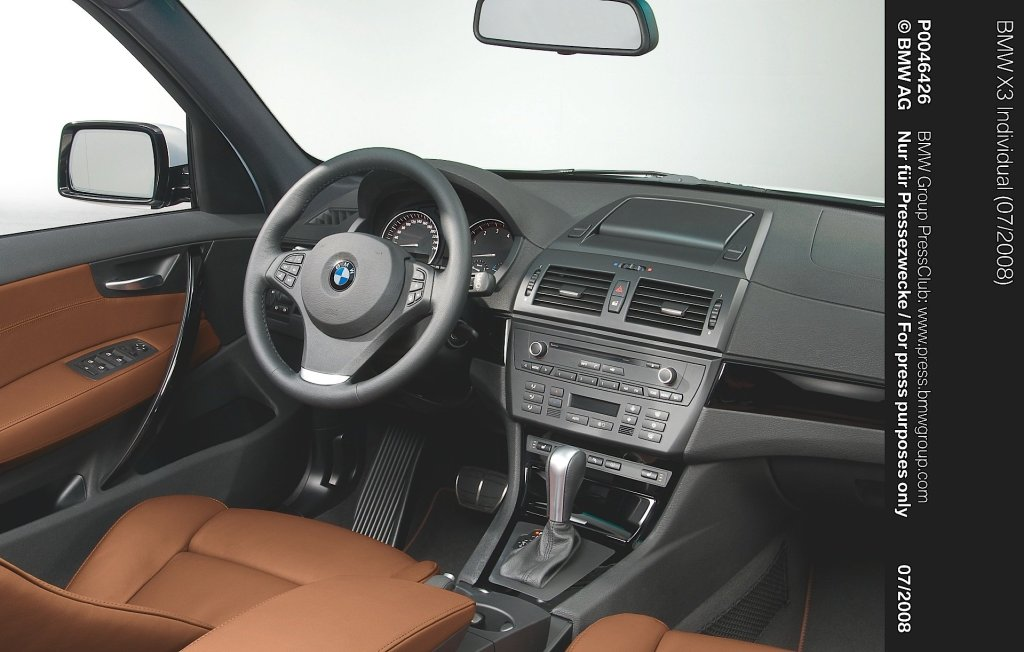 BMW X3 E83 Exclusive Edition