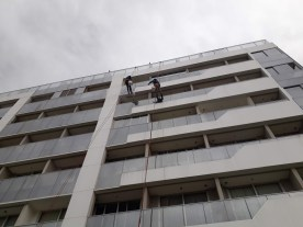 limpeza de junta do acm condominio Due Murano Noroeste DF