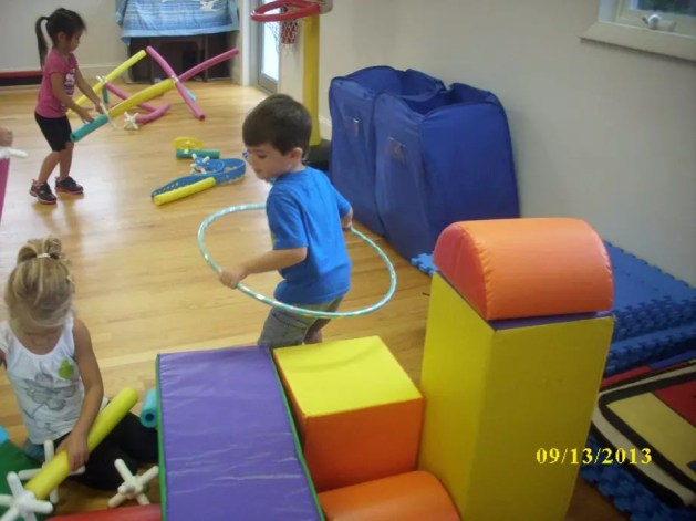 Indoor play time at Silveira School