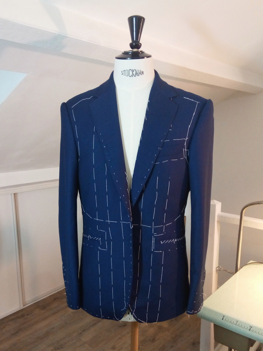 confection costume homme sur mesure bespoke Silvene Hedon