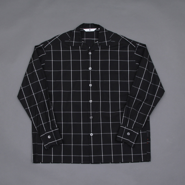 SILVER AND GOLD GENERAL MERCHANDISE Loop-top Shirt Windowpane