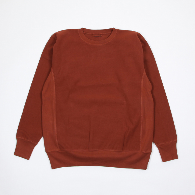 AURALEE SUPER MILLED SWEAT P/O [A8AP01SM]
