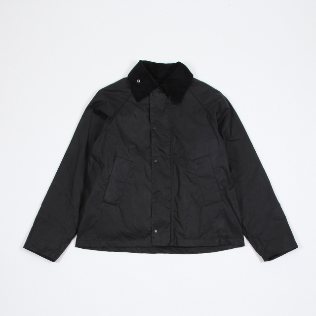 EG x Barbour Graham Wax Black [DE368]