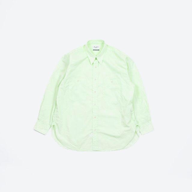 Marvine Pontiak shirt makers Military SH Lime Green [MSPM-1905S]