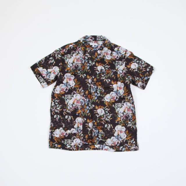 Engineered Garments Camp Shirt – Botany Printed Lawn Dk. Navy [EF130]