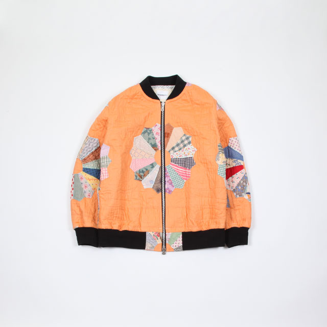 TAKAHIROMIYASHITATheSoloist. vintage quilt flight jacket. imagine [sw.0162]
