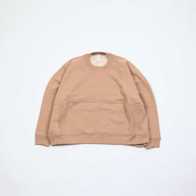 O project WIDE FIT CREW SWEAT [07SW1]