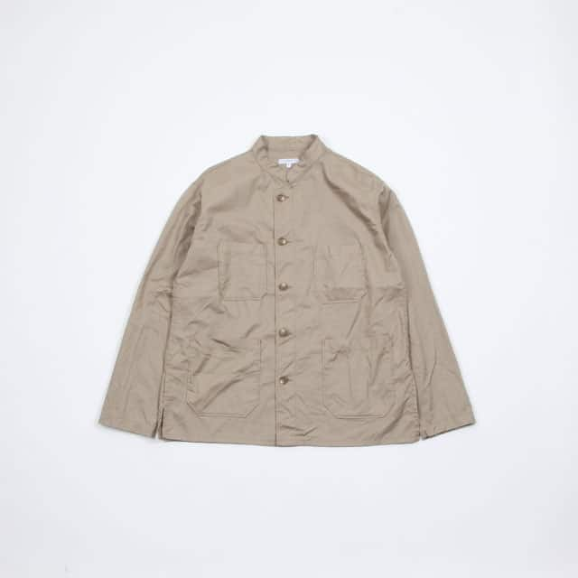 Engineered Garments Dayton Shirt – High Count Twill Khaki [EF154]
