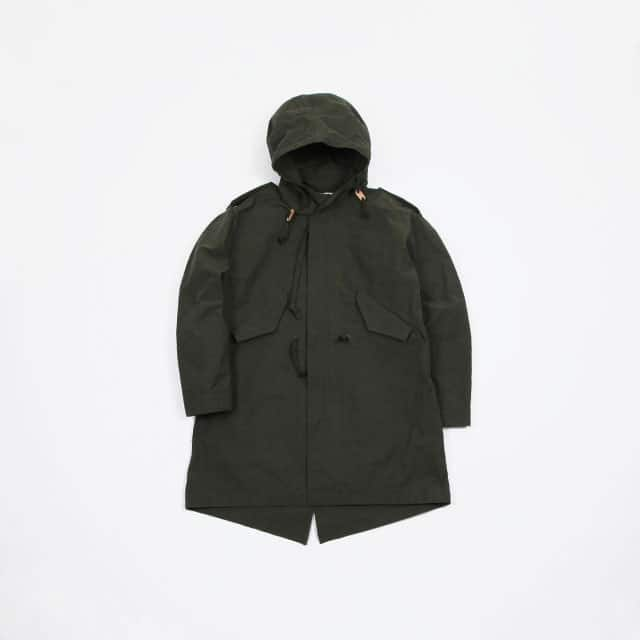 cantae Fish Tail Parka ARMY GREEN [19SSCA0144]