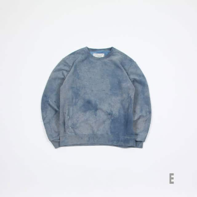 TOTALLY BLOWN SUNDAY SWEATSHIRTS INDIGO size:L/XL