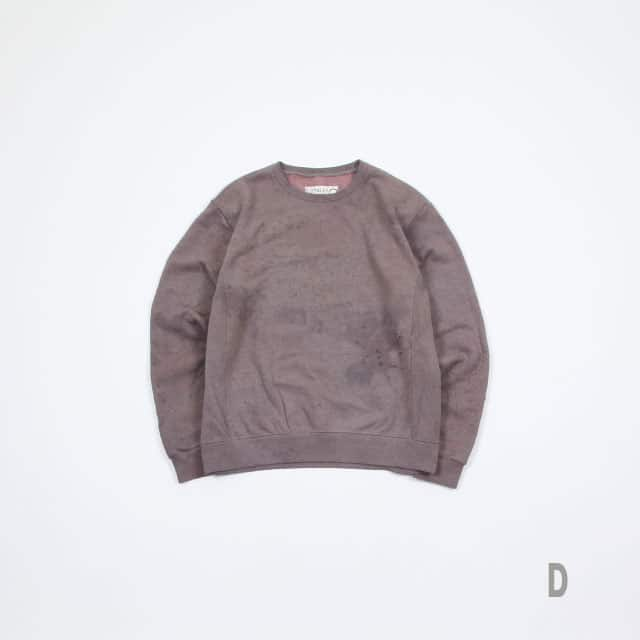 TOTALLY BLOWN SUNDAY SWEATSHIRTS FADED/GREY size:M/L