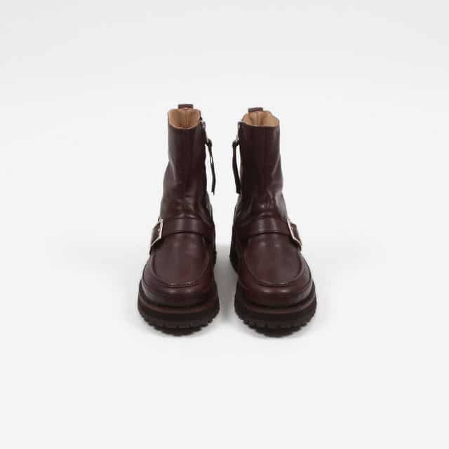 nonnative HUNTER ZIP UP BOOTS COW LEATHER [NN-F3501]