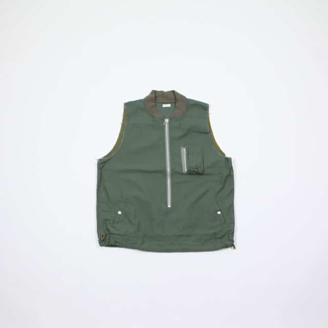 OLD PARK LAUNDRY VEST MA-1 MILITARY size:Free [OP-287]