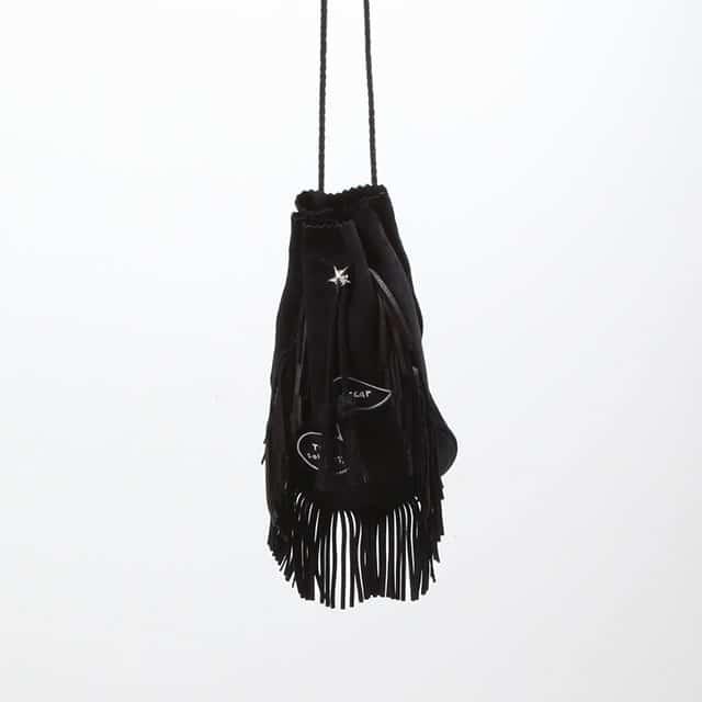 TAKAHIROMIYASHITATheSoloist. medicine bag. black [sa.0048SS19]