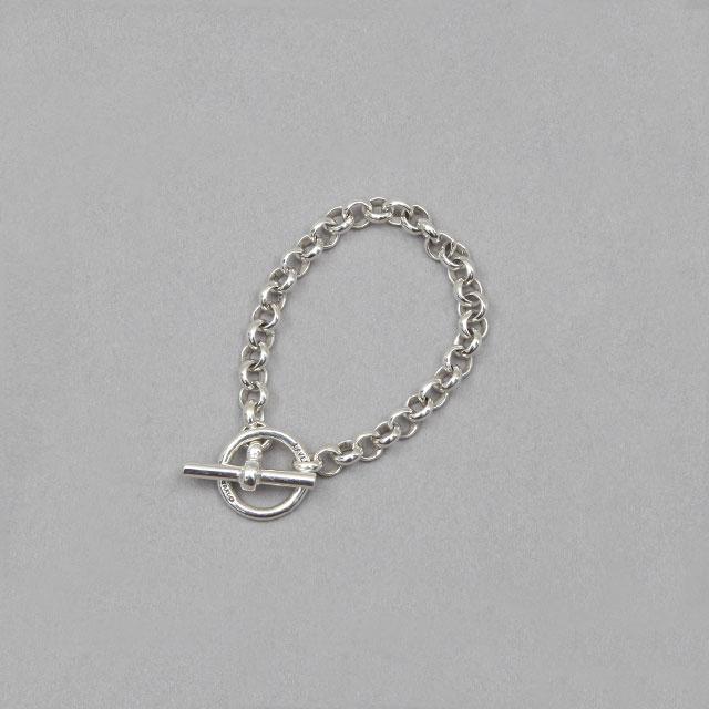 LAVER Cable Chain T Bar Bracelet