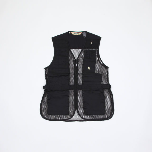 Bob Allen Full Mesh Shooting Vest Black