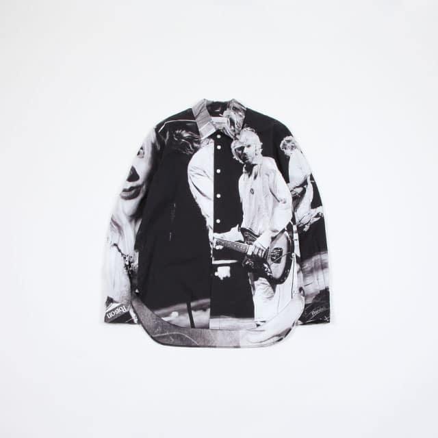 TAKAHIROMIYASHITATheSoloIst. regular collar shirt. [ss.0001SS19]