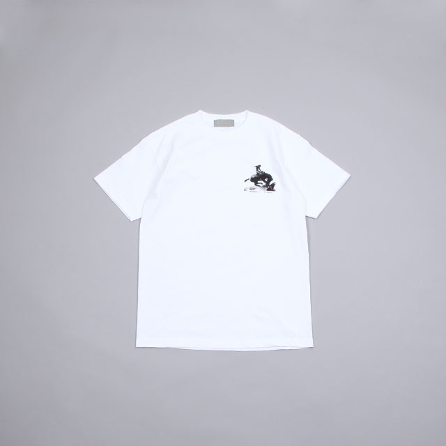 BROW BOBBY & MIKEY THE LONG GOOD BYE S/S TEE WHITE