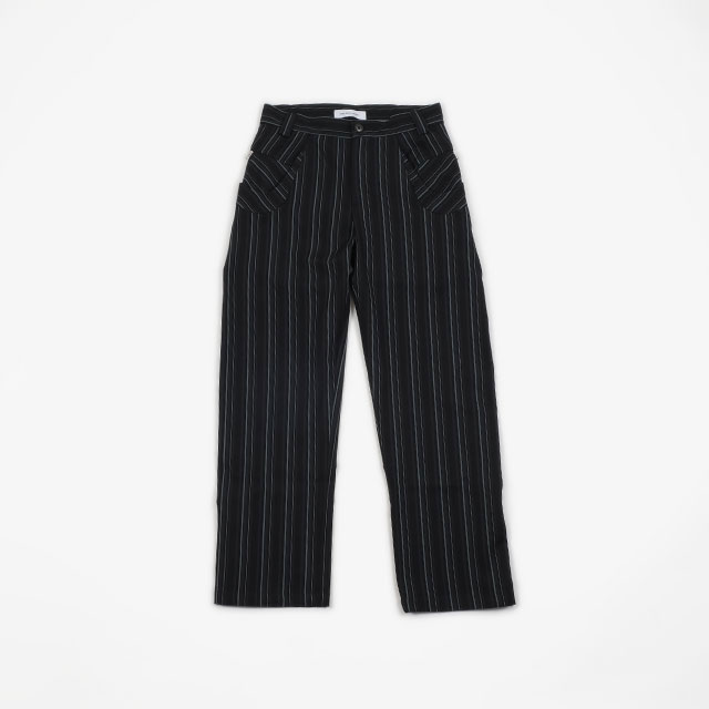 KIKO KOSTADINOV IRENE TROUSERS MIDNIGHT STRIPES [KKFW19T02-300]