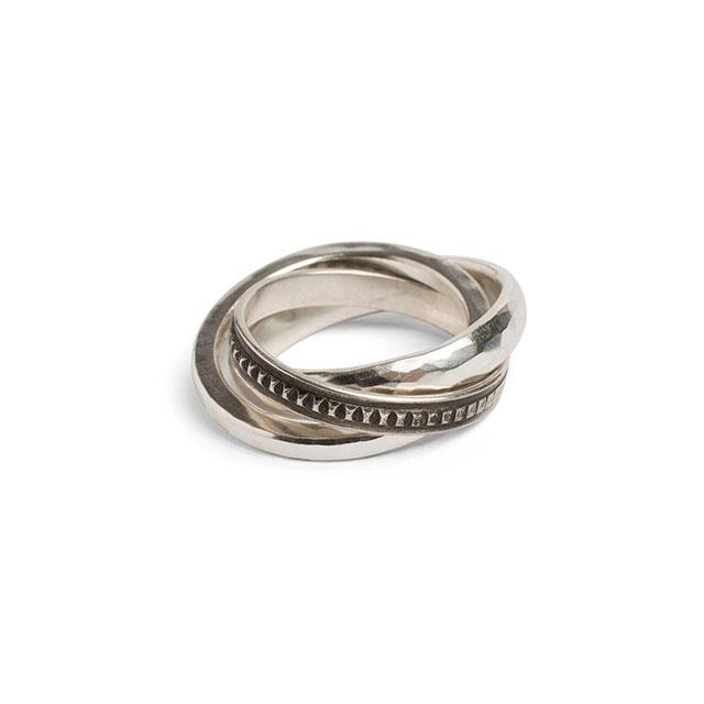 werkstatt münchen Ring Forever Hammered [M1417]