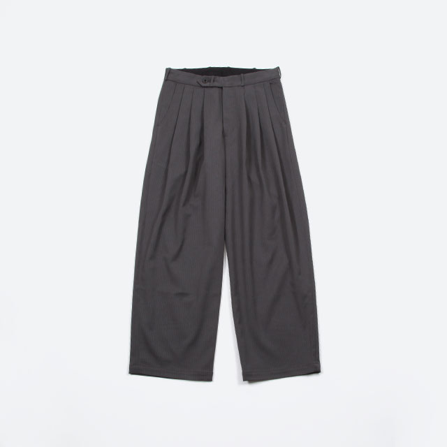 MONITALY Triple Tuck Wide Pants [M260301]