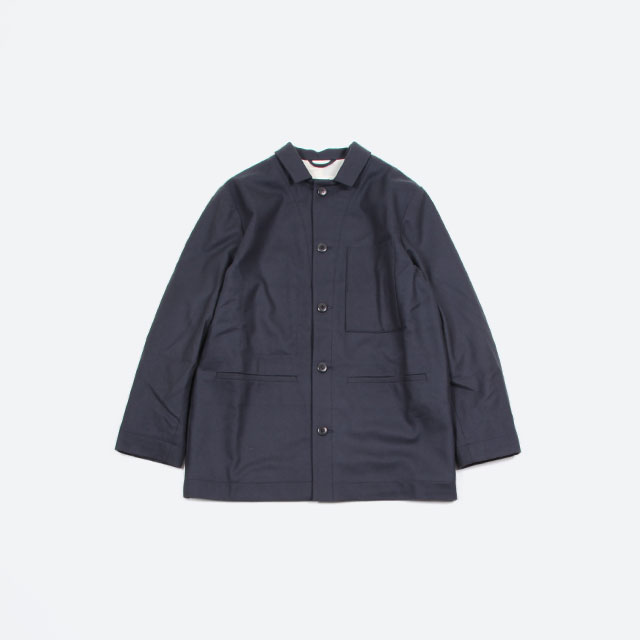 toogood THE CARPENTER JACKET – FELTED LAMBSWOOL MW PRUSSIAN