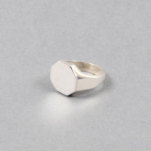 LAVER Octagon Signet Ring [no.37]