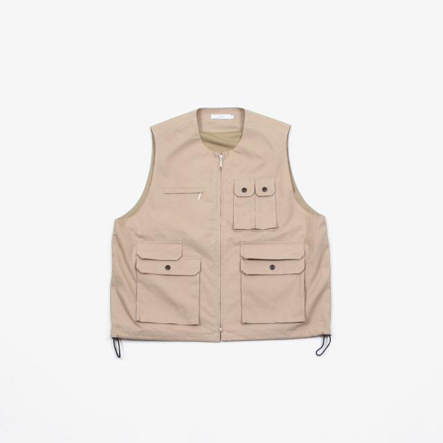SUBTLE authentic Zip Up Over Vest [SUBTLE-050]