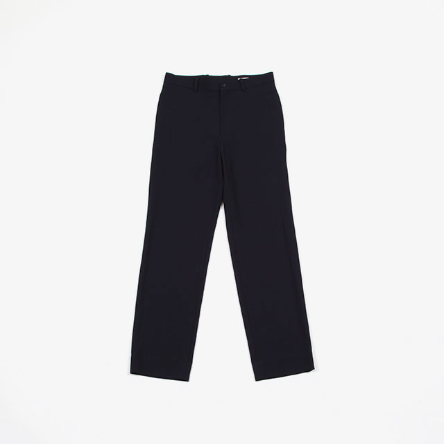 AURALEE HARD TWIST WOOL DOBBY SLACKS [A20SP03KW]