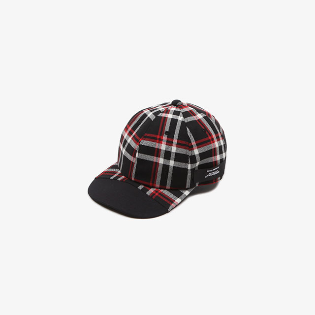 N.HOOLYWOOD CHECK CAP BK CHECK [1201-AC08-pieces]