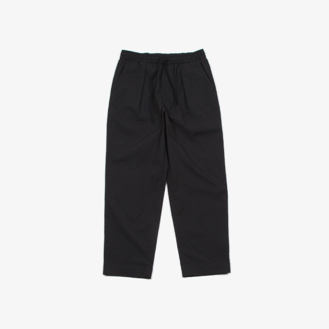 A VONTADE Comfort Wide Easy Trousers Black [VTD-0423-PT]