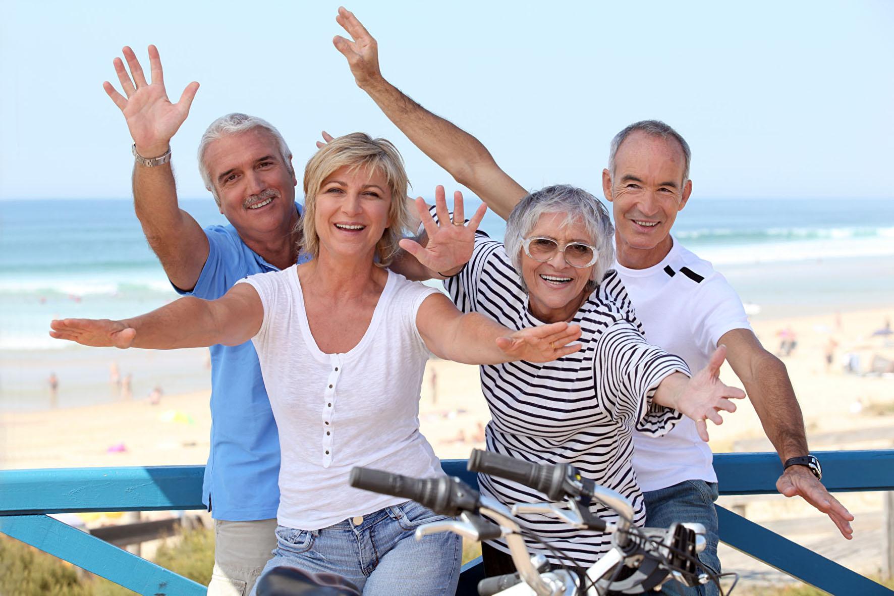 Lebensfohe Best Ager - Vitales Älterwerden