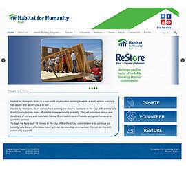 Web Design Habitat Brant